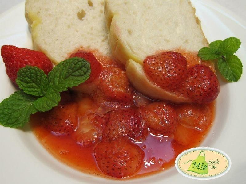 熱呼呼草莓醬