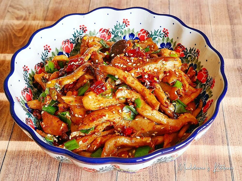 燒烤風味~香辣炒鮮菇
