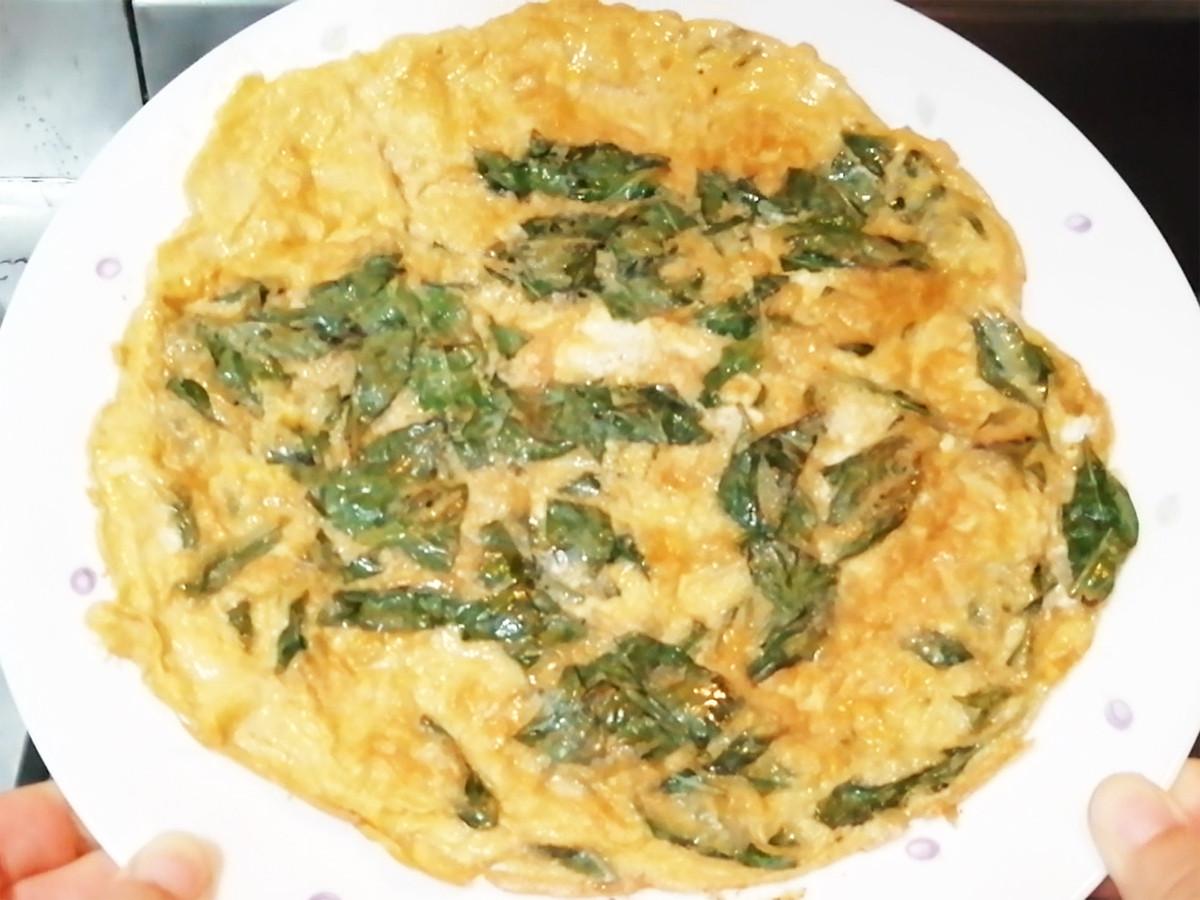 九層塔煎蛋 家庭料理 簡單料理 銅板料理