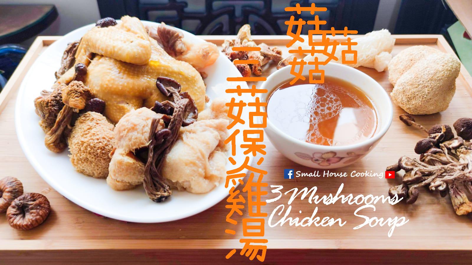 湯水篇 姬松茸茶樹菇猴頭菇雞湯 附影片