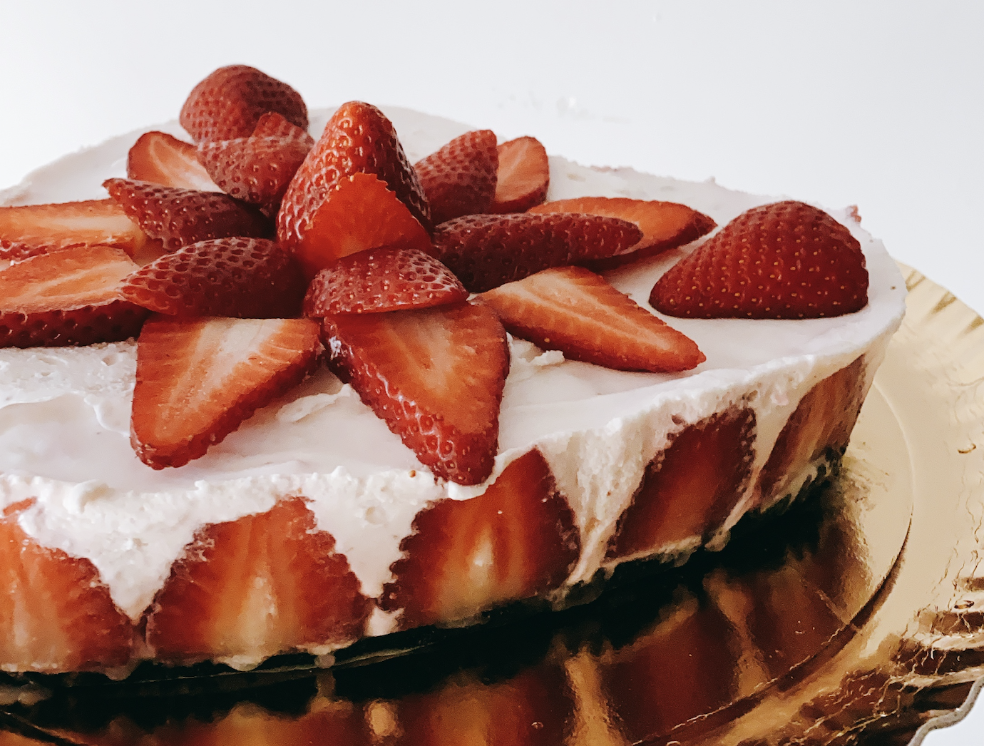 〖免烤箱|推新手〗草莓生乳酪蛋糕