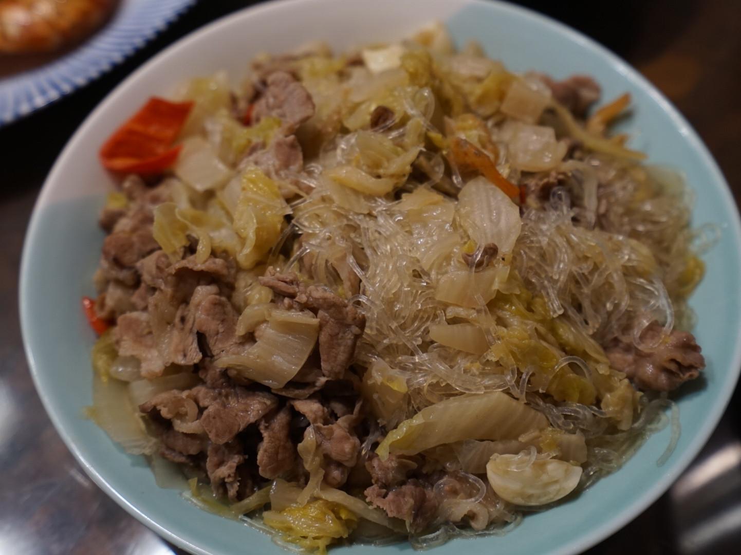 酸白菜炒肉