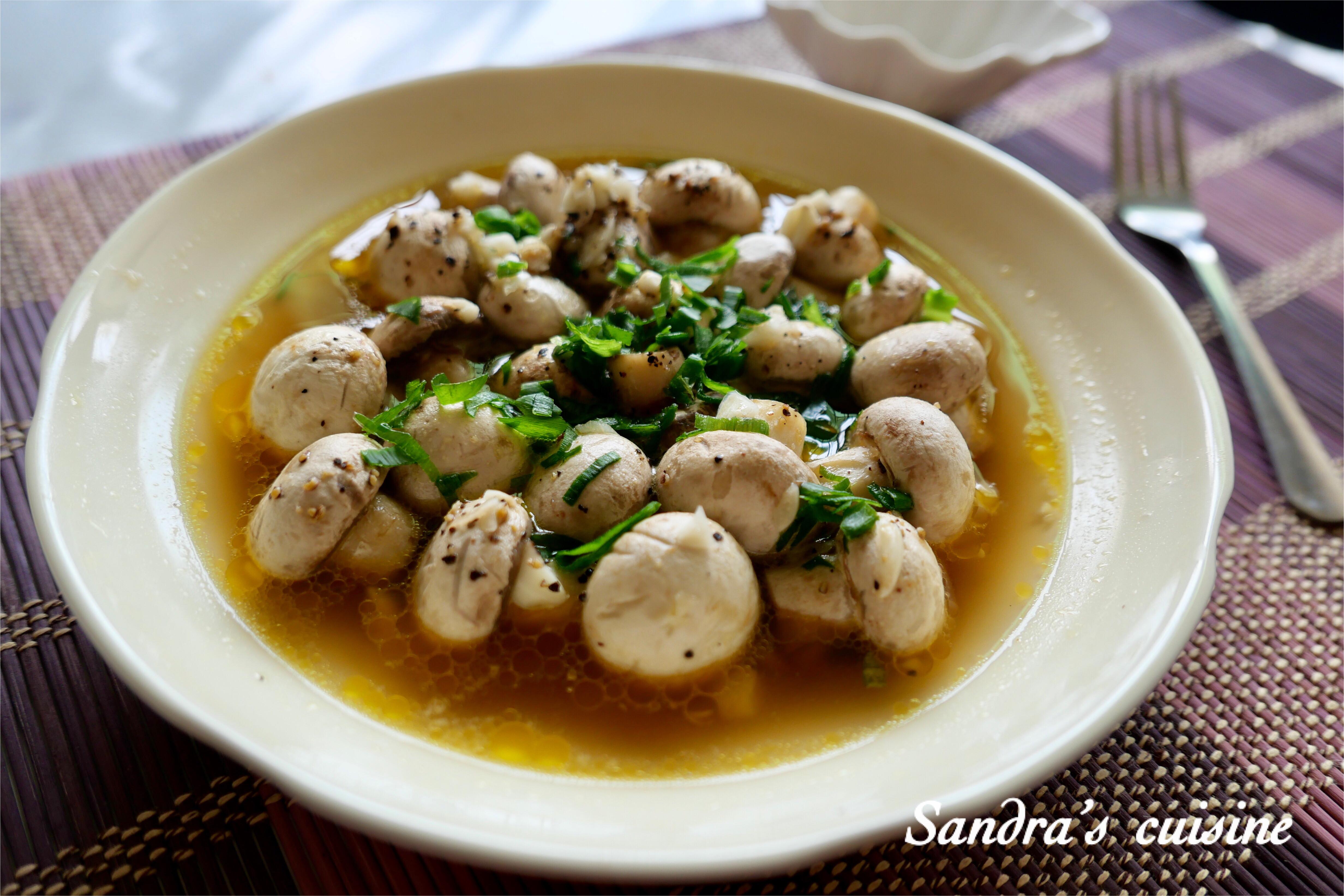 奶油蒜香鮮蘑菇