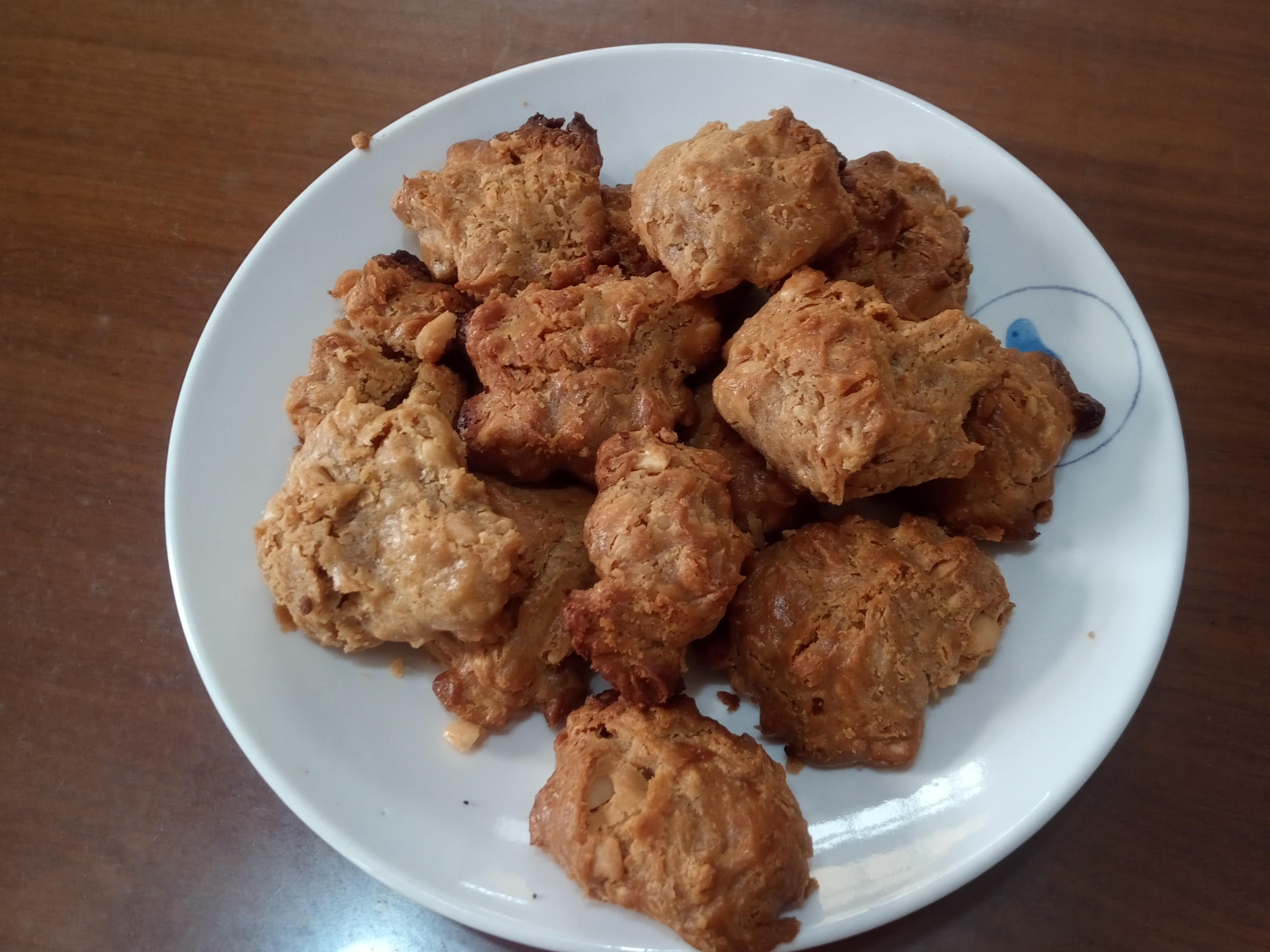 花生醬餅乾(小烤箱、氣炸鍋版)