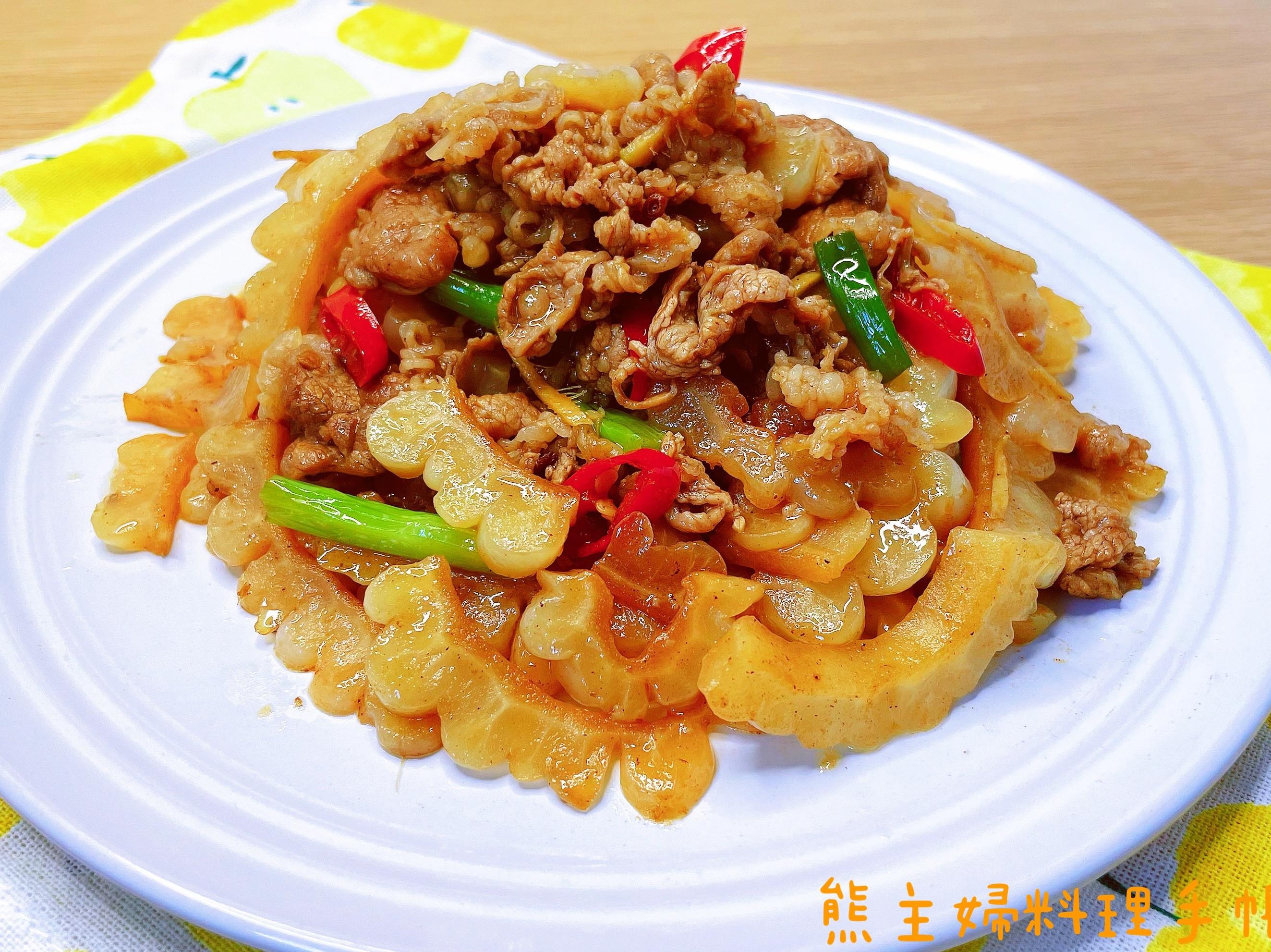 苦瓜炒牛肉(簡易/便當菜)