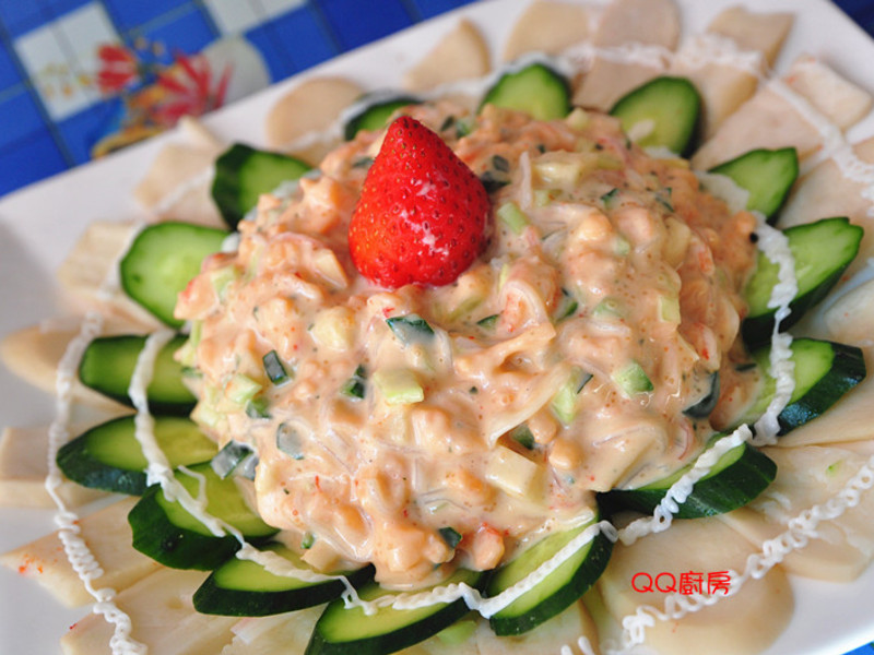 【海鮮年菜】花開富貴龍蝦舞沙拉