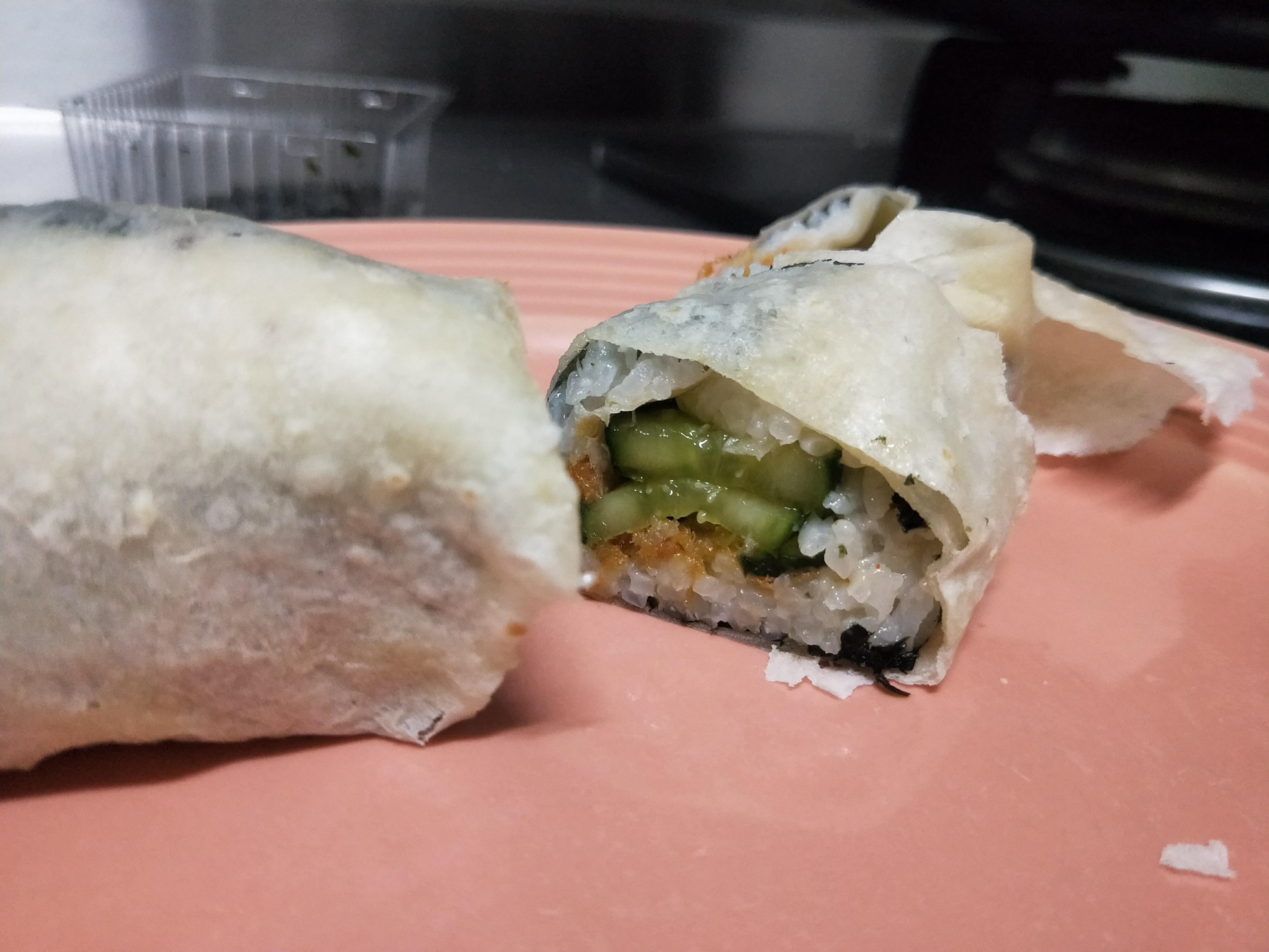 《潤餅皮創意》偽壽司