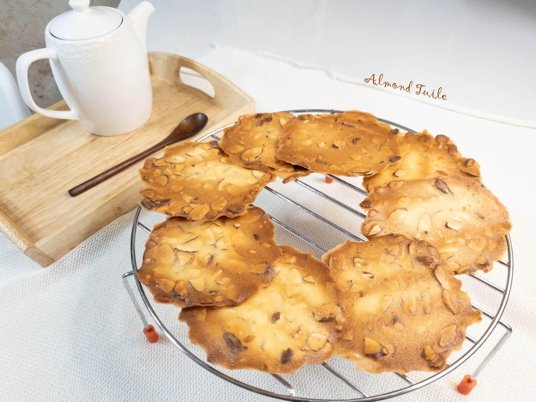 簡單美味的杏仁瓦片