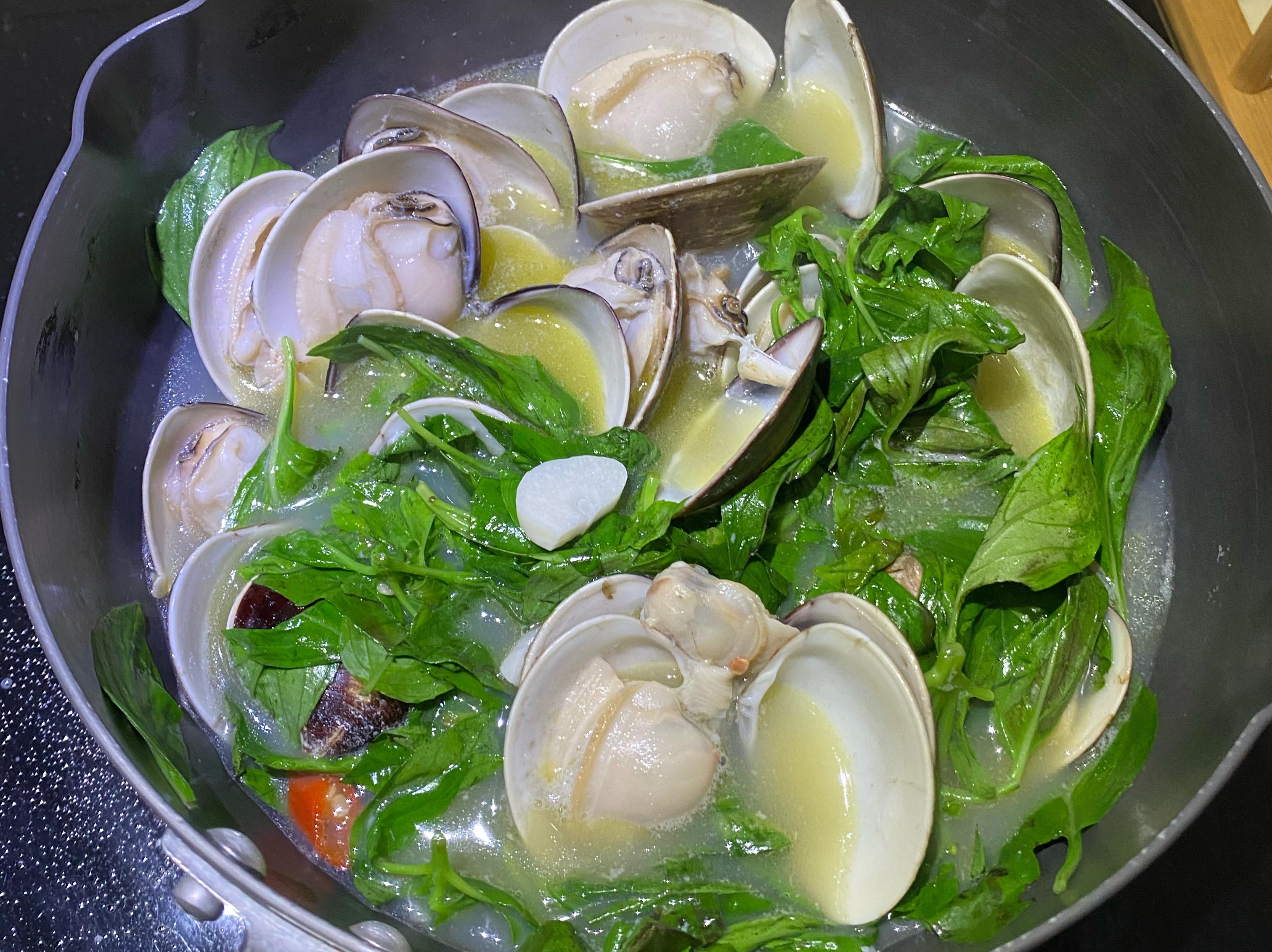 奶油啤酒蛤蠣