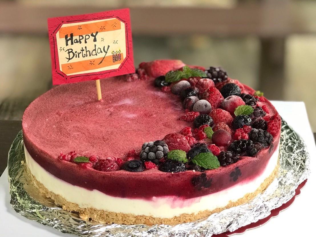 繽紛莓果生乳酪蛋糕