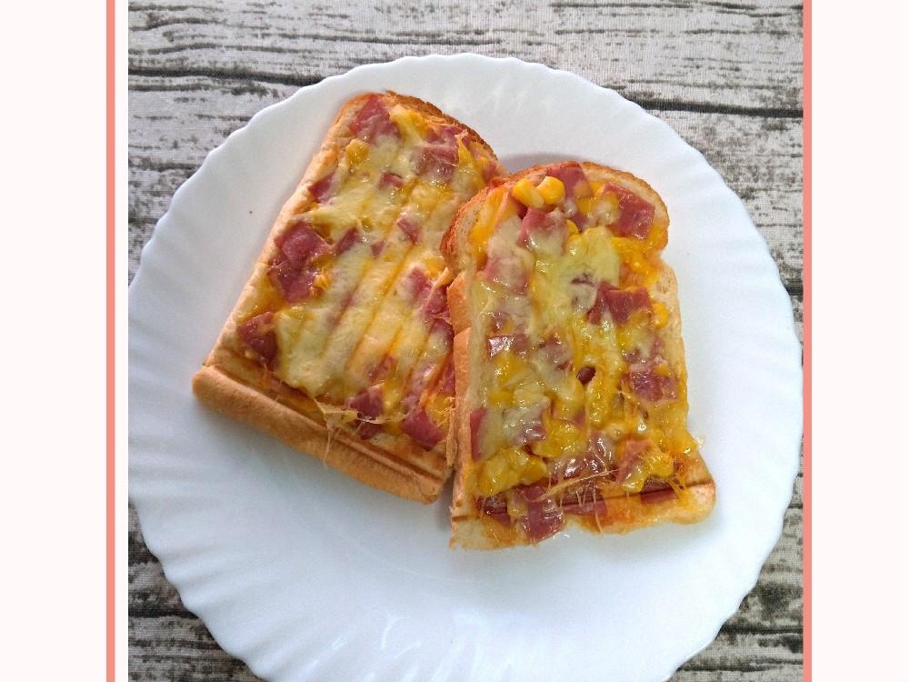 吐司偽披薩(小V版)