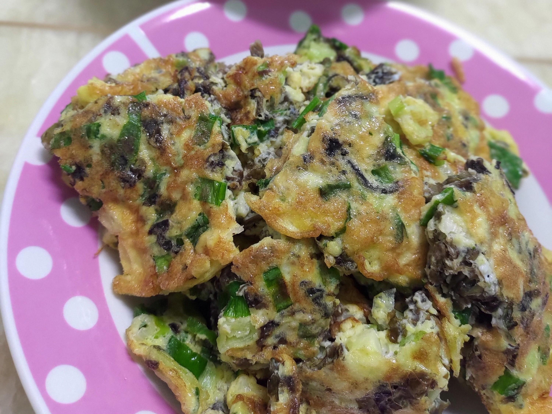 紫菜青蔥煎蛋