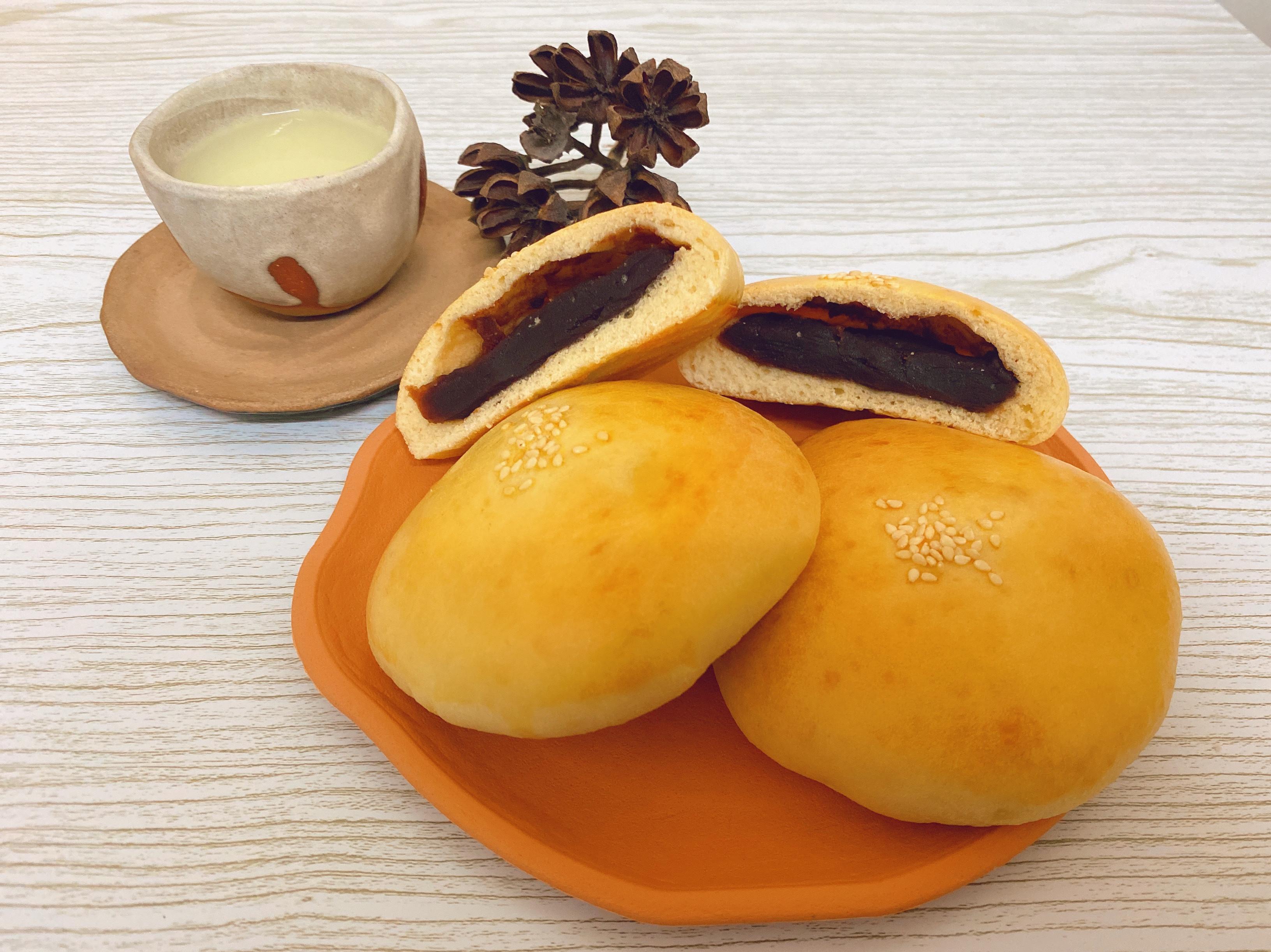 日式豆沙麵包