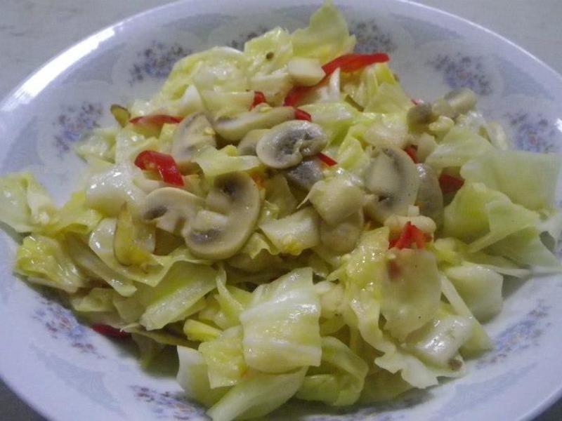 蘑菇高麗菜