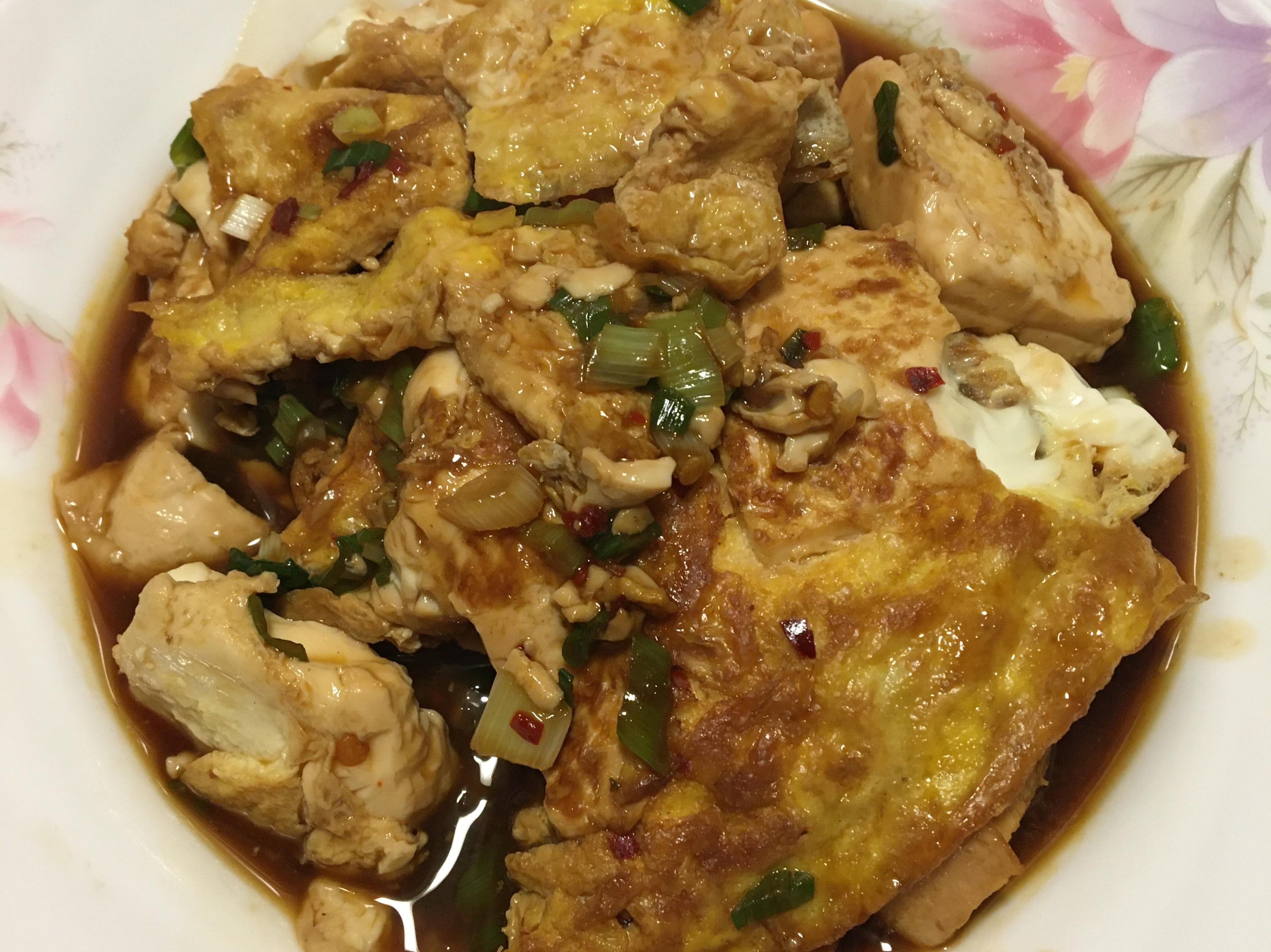 紅燒豆腐鮮雞蛋