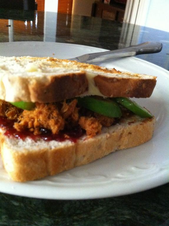 甜鹹三明治~呱【Take a bread!創意三明治、麵包早餐】