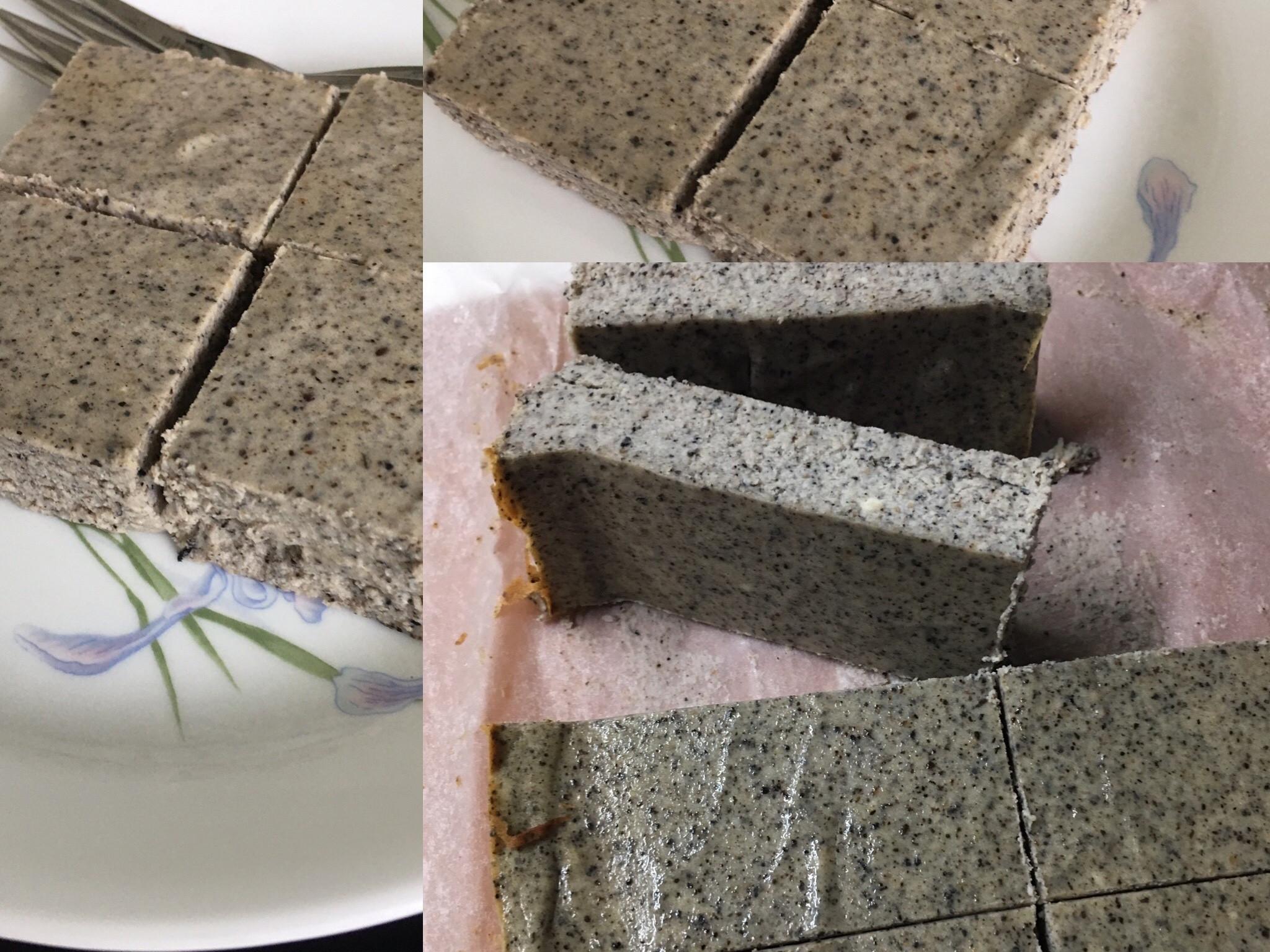 芝麻優格重乳酪蛋糕