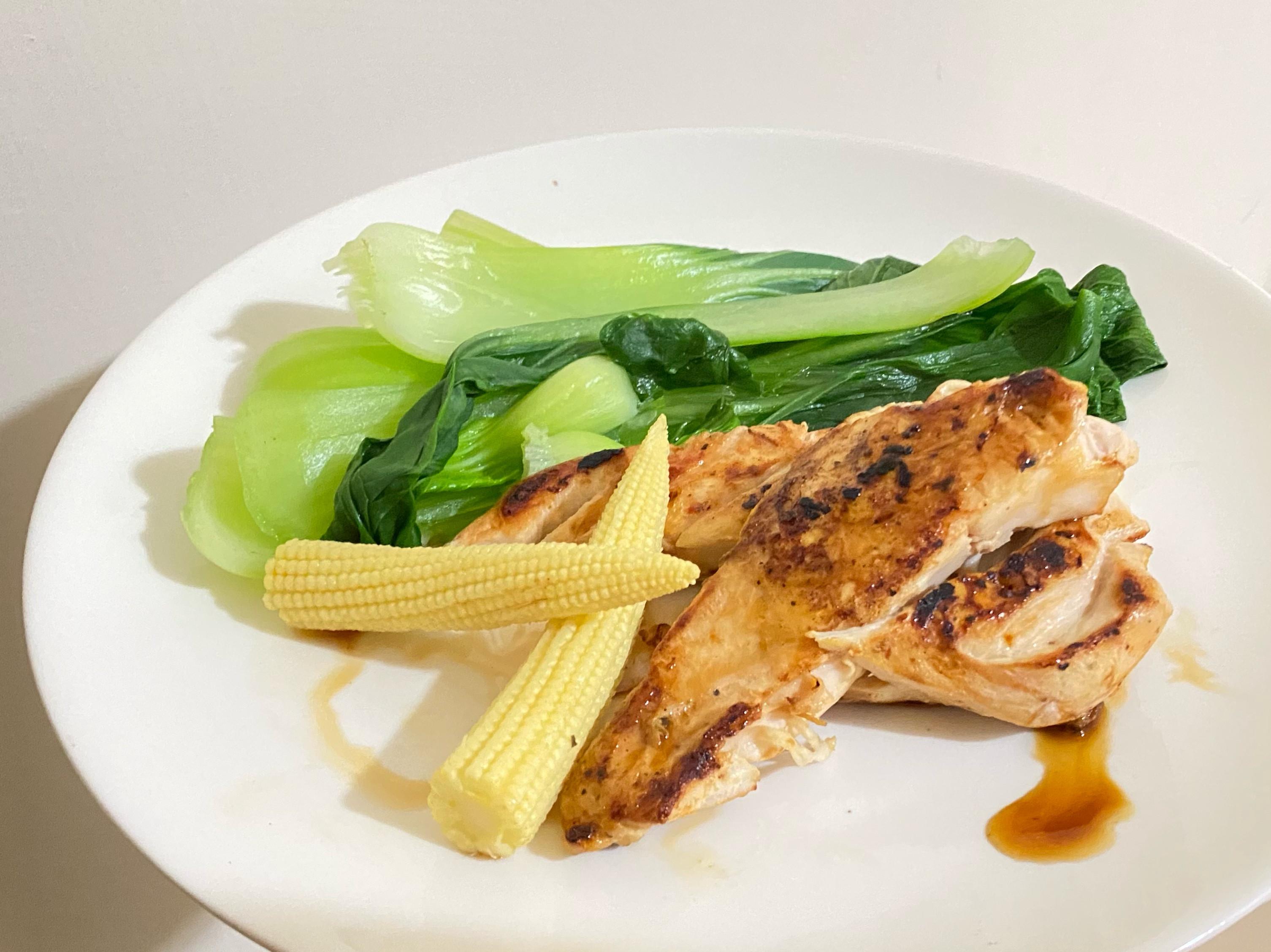 [減脂餐]S12 迷迭香雞胸+蔬菜