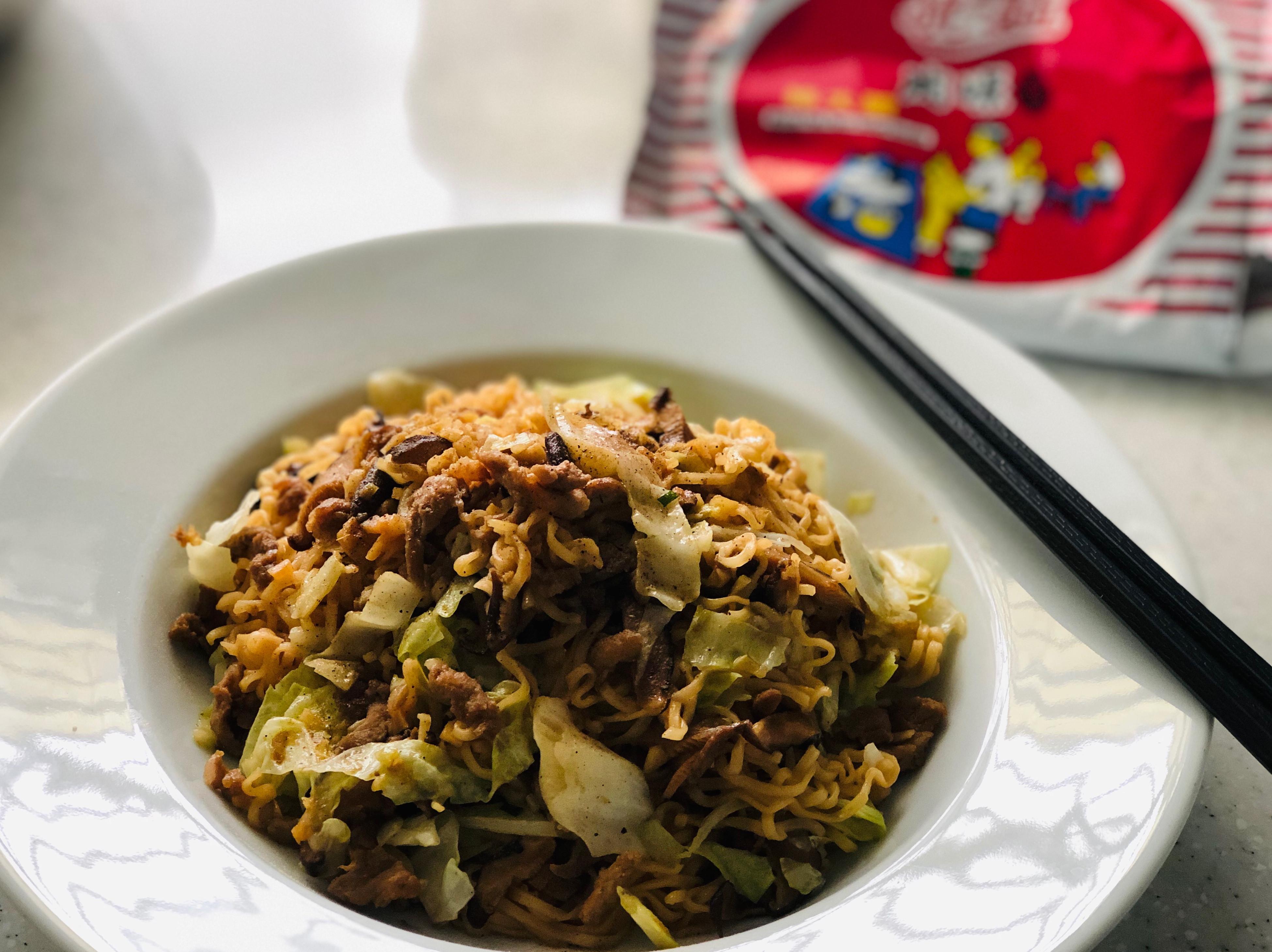 家常油飯風味炒泡麵/統一麵肉燥風味