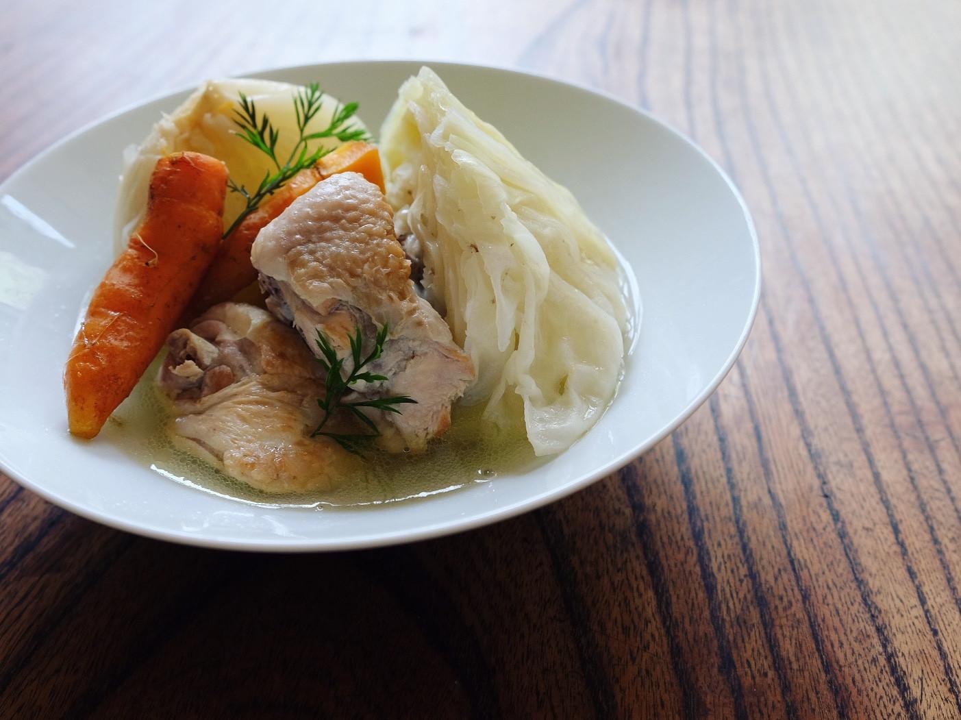 免疫力提升#1 - 雞肉燉蔬菜湯