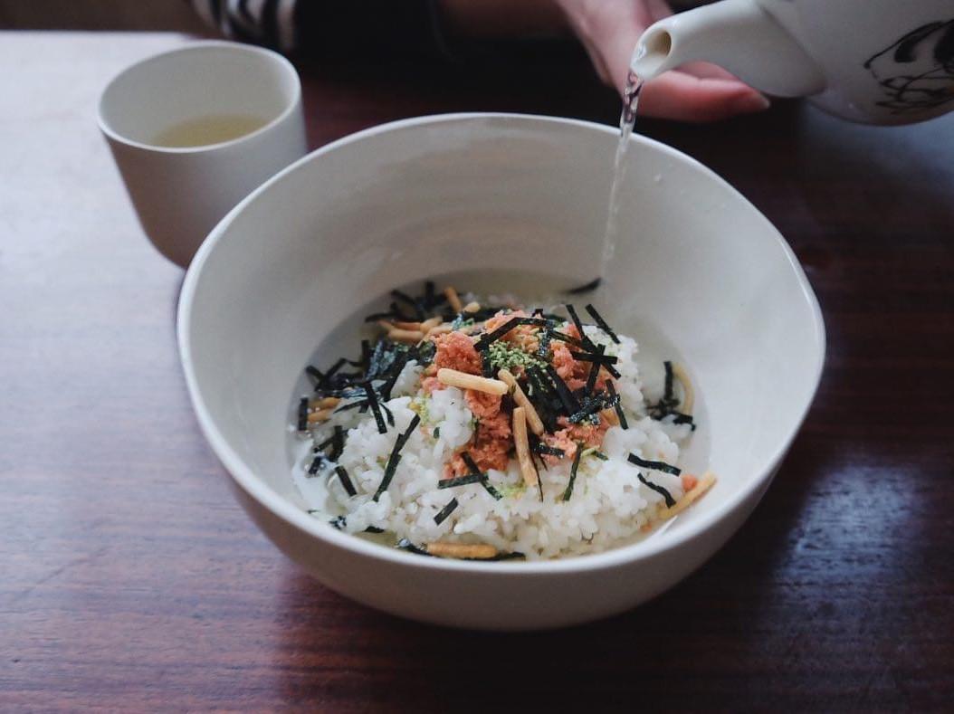 罐頭好上桌#1 - 鮭魚茶泡飯