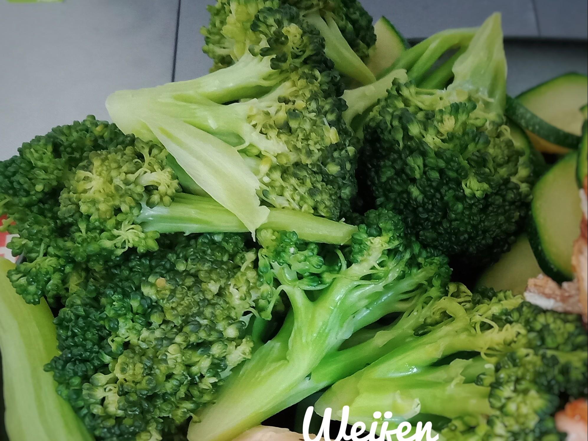 無油低卡煮青花菜