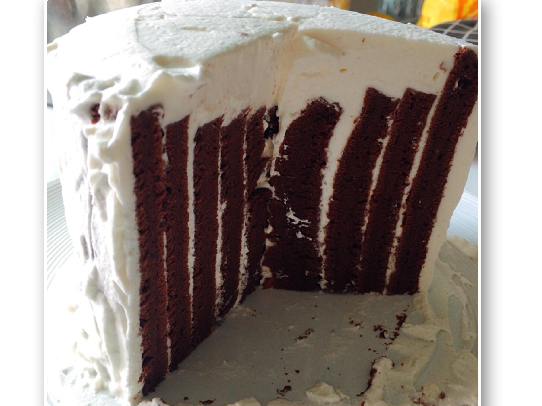 簡單版👌鮮奶油巧克力蛋糕