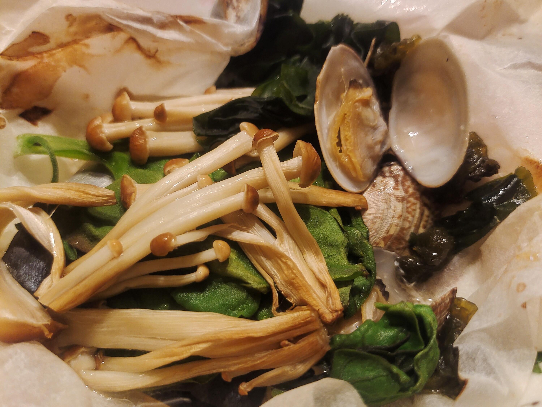 日式鯛魚紙包燒