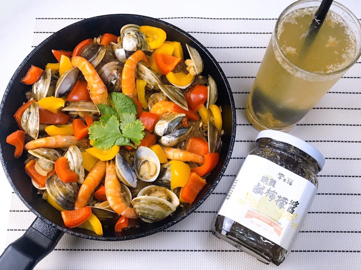/健人料理/簡易高纖版西班牙海鮮燉飯