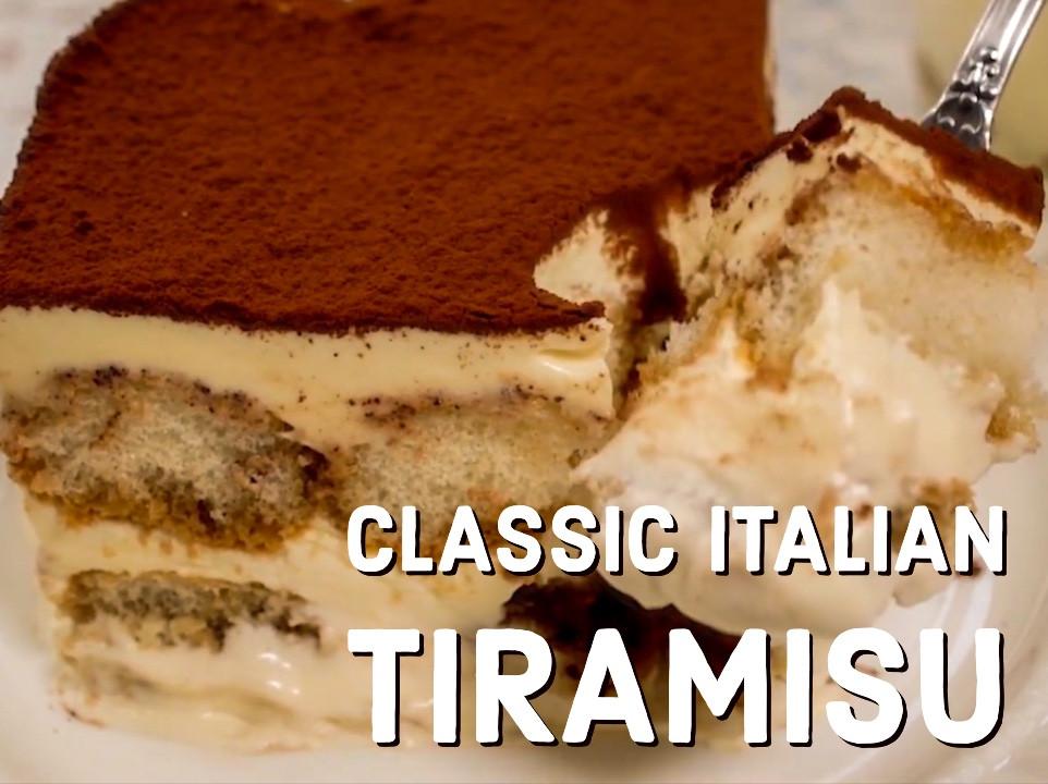 義大利經典提拉米蘇  簡單不失敗食譜