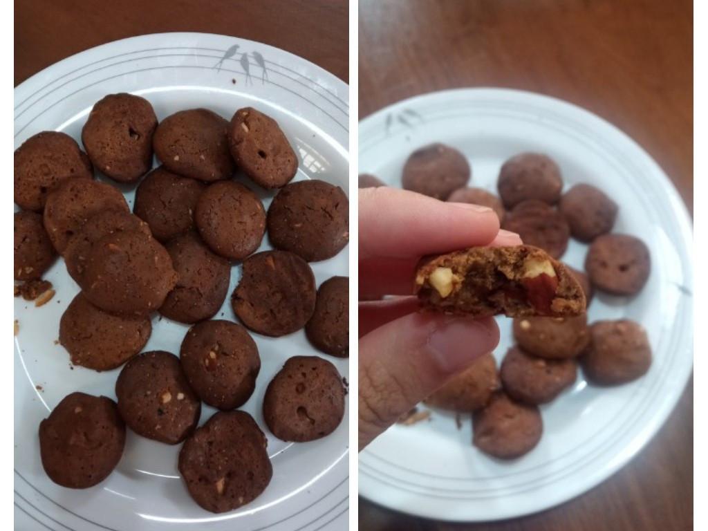 氣炸鍋:咖啡堅果餅乾