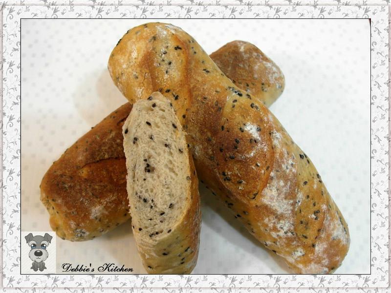 ★芝麻棍子麵包(天然酵母)★