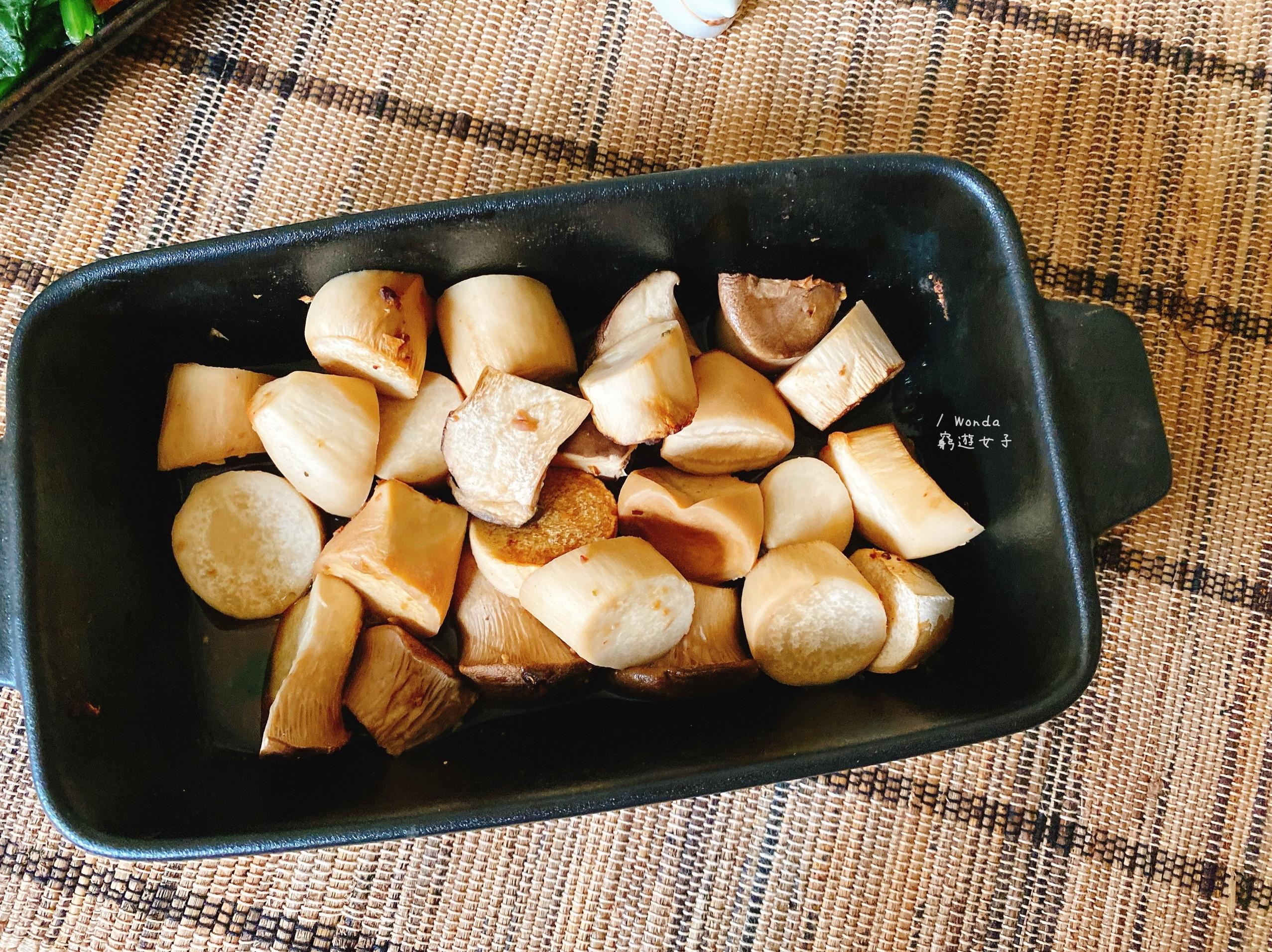 味噌烤杏鮑菇|素食烤箱料理
