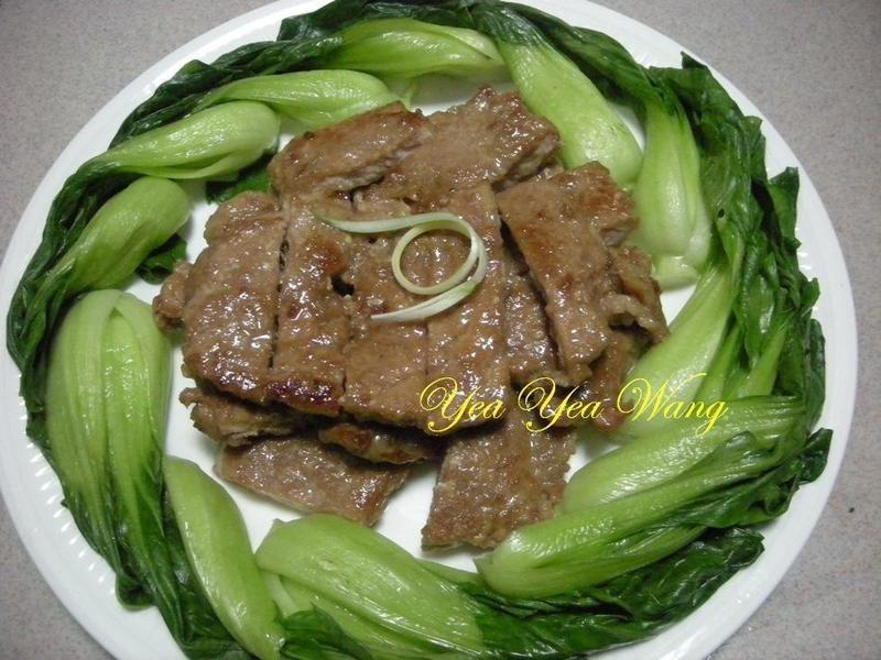 煎豬肉排+醃料