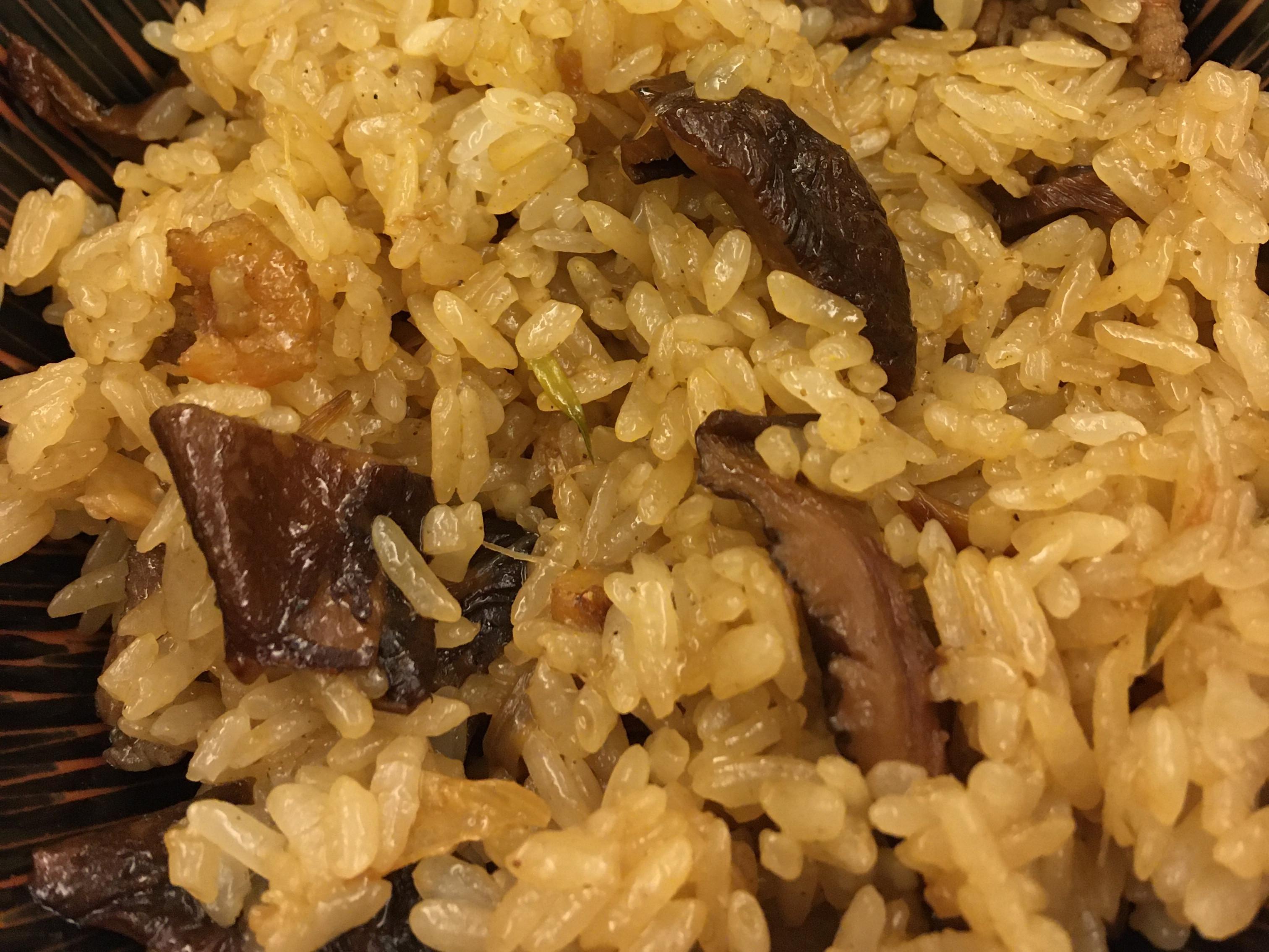 油飯(長糯米+圓糯米)