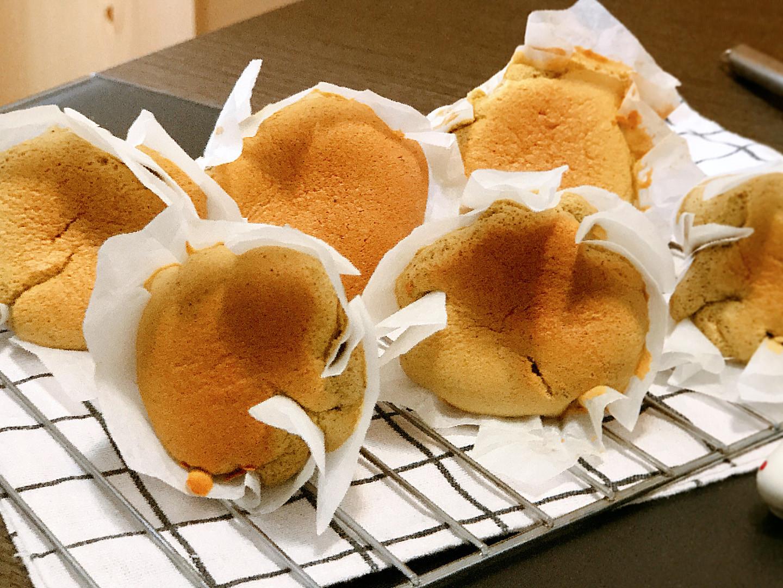 【影片】抹茶紙包蛋糕