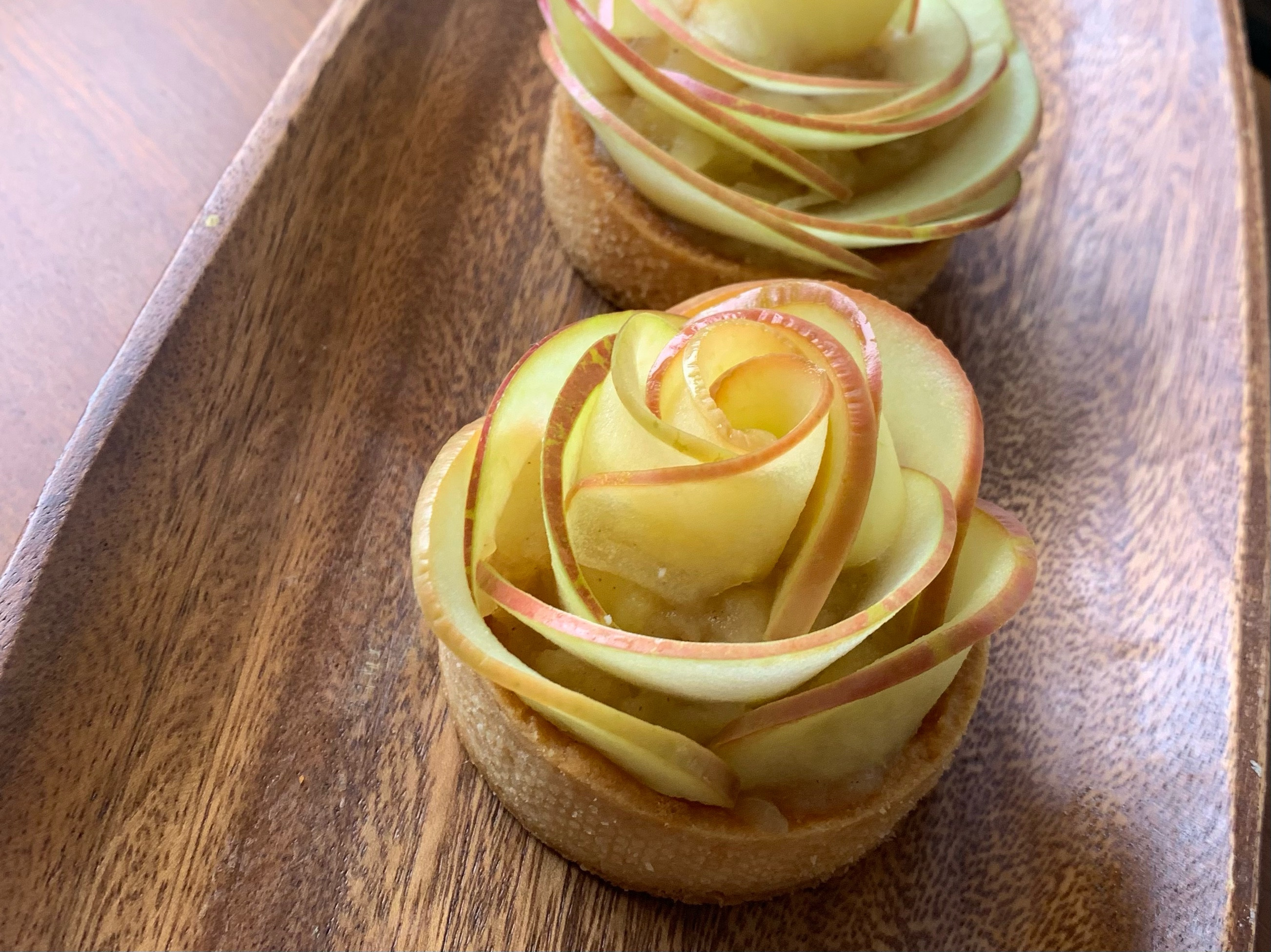 玫瑰蘋果塔(母親節送一朵花)