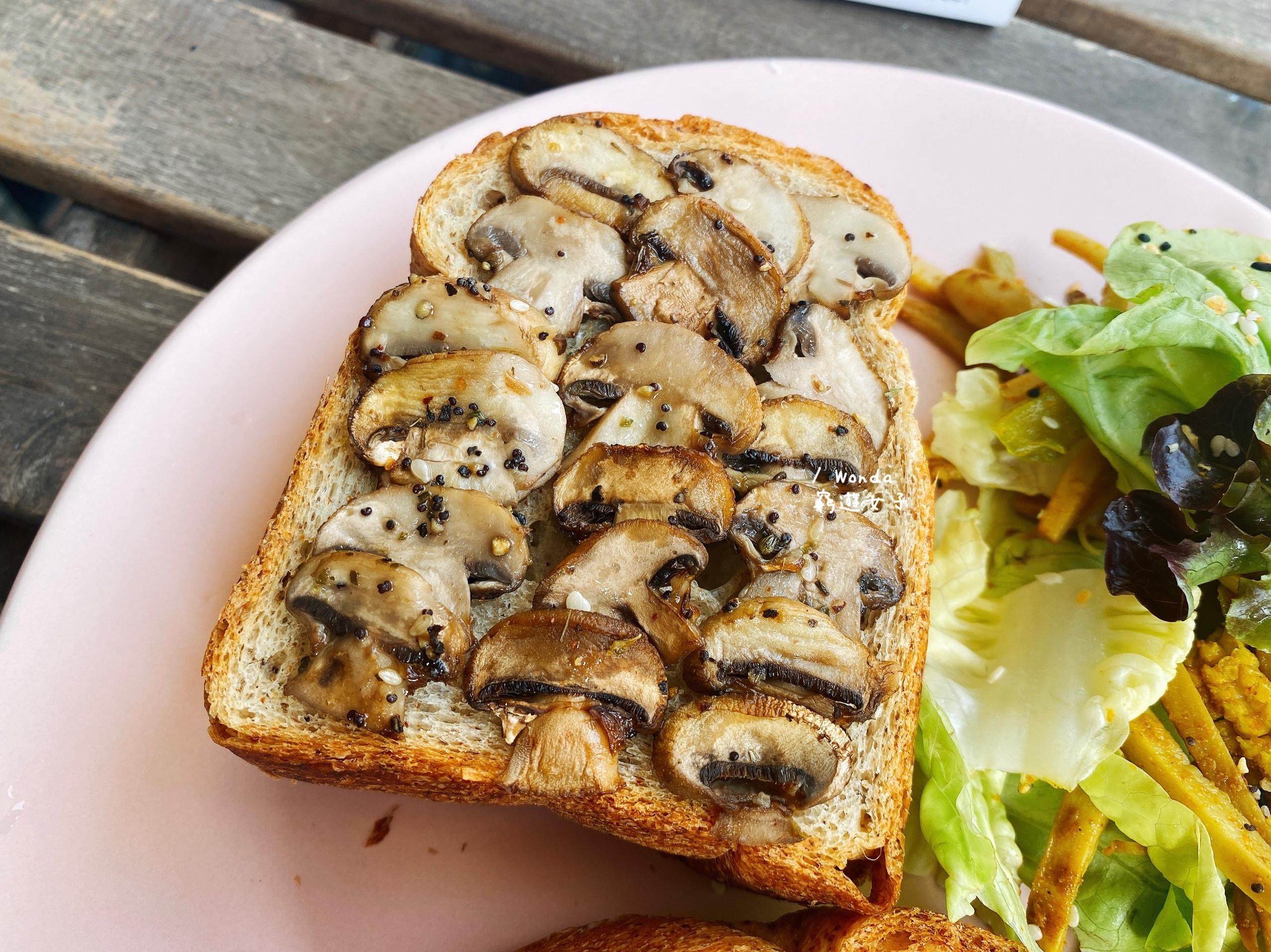 蒜烤蘑菇|素食烤箱料理