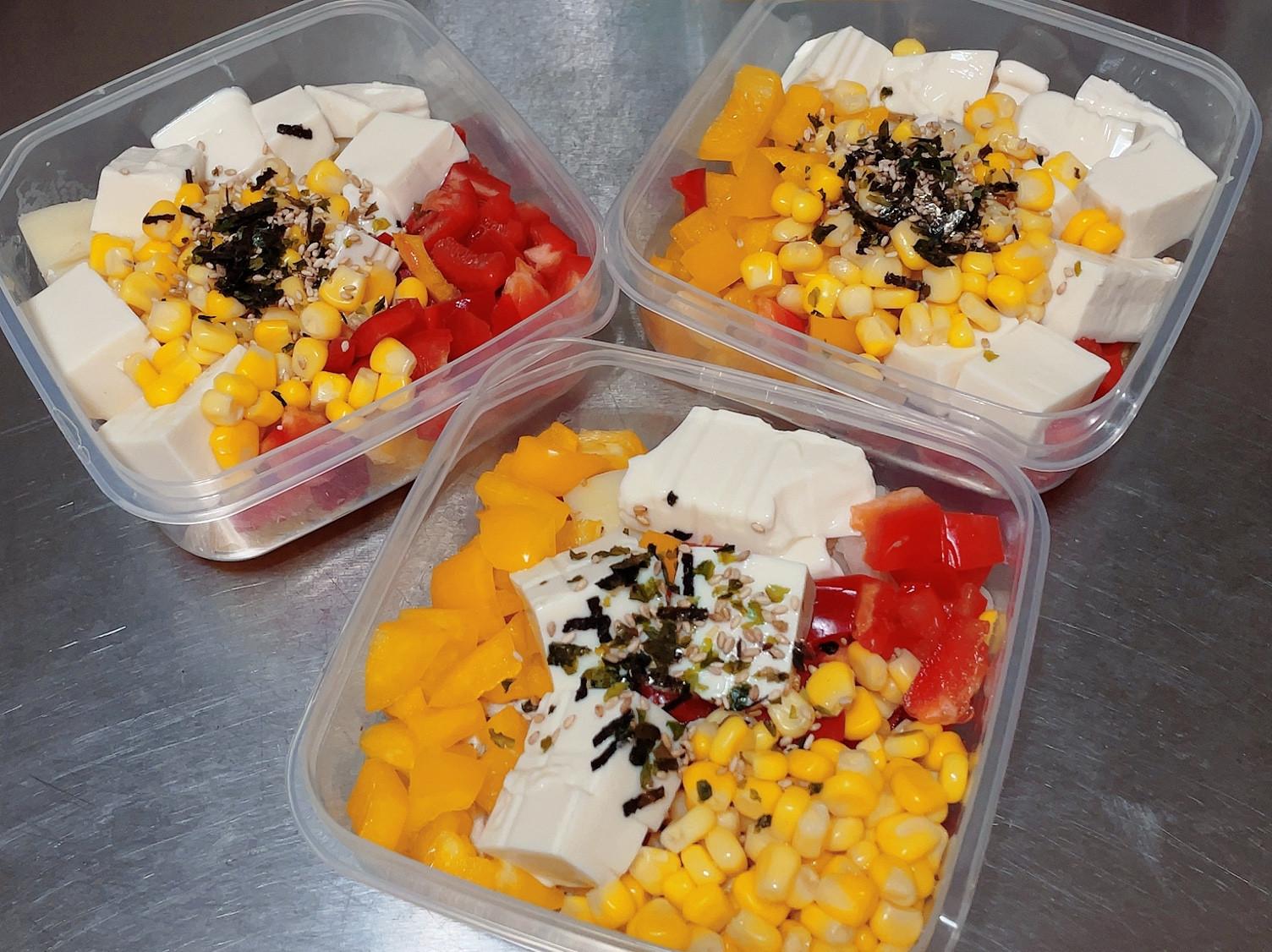 健康蔬食餐 甜椒雞胸肉