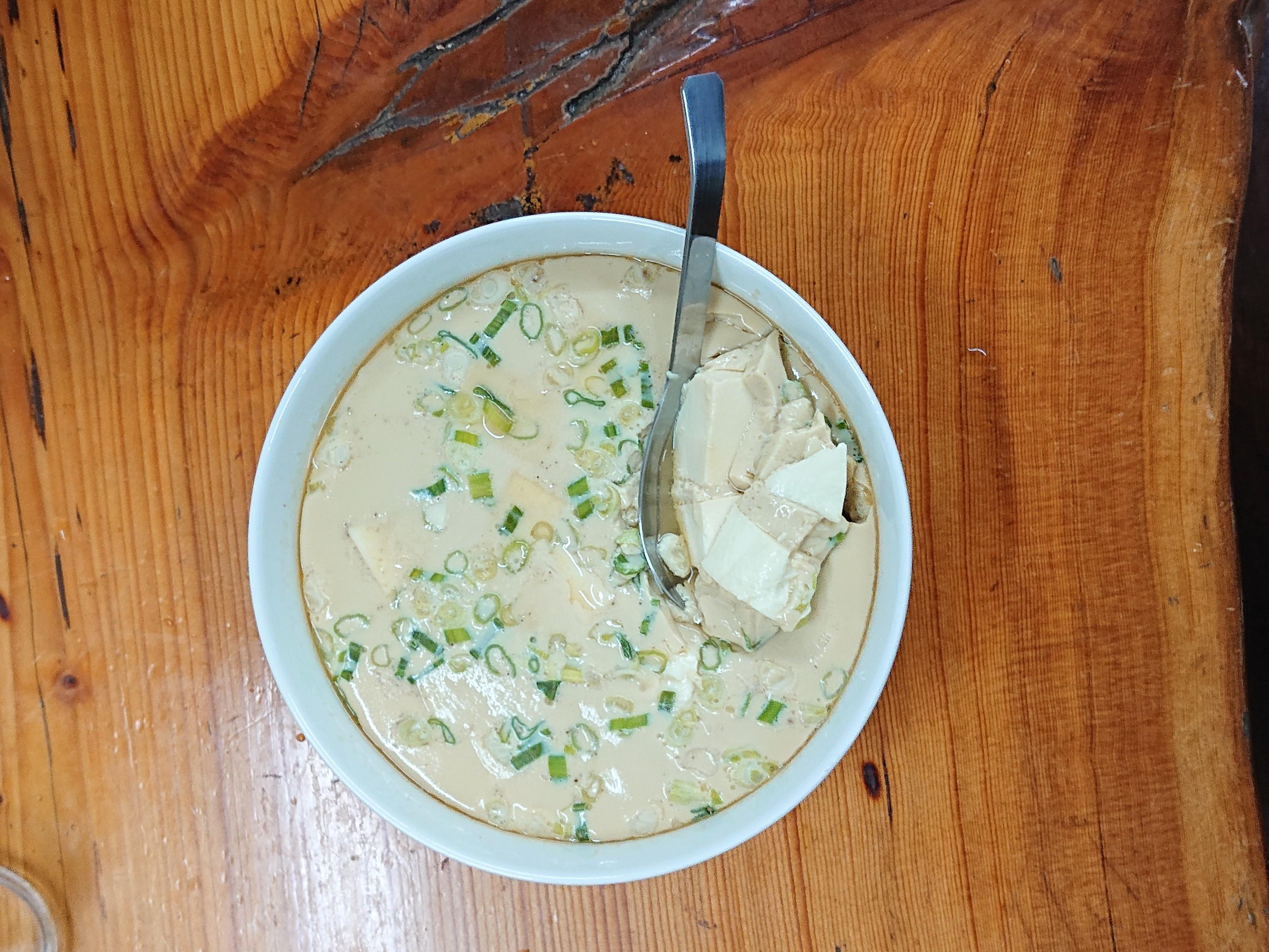 蛋蒸嫩豆腐