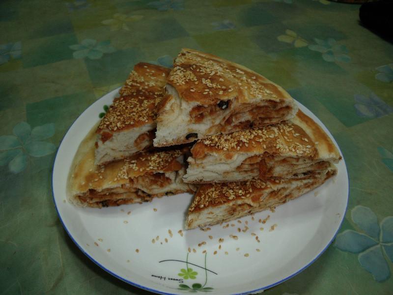 海苔肉鬆芝麻大餅