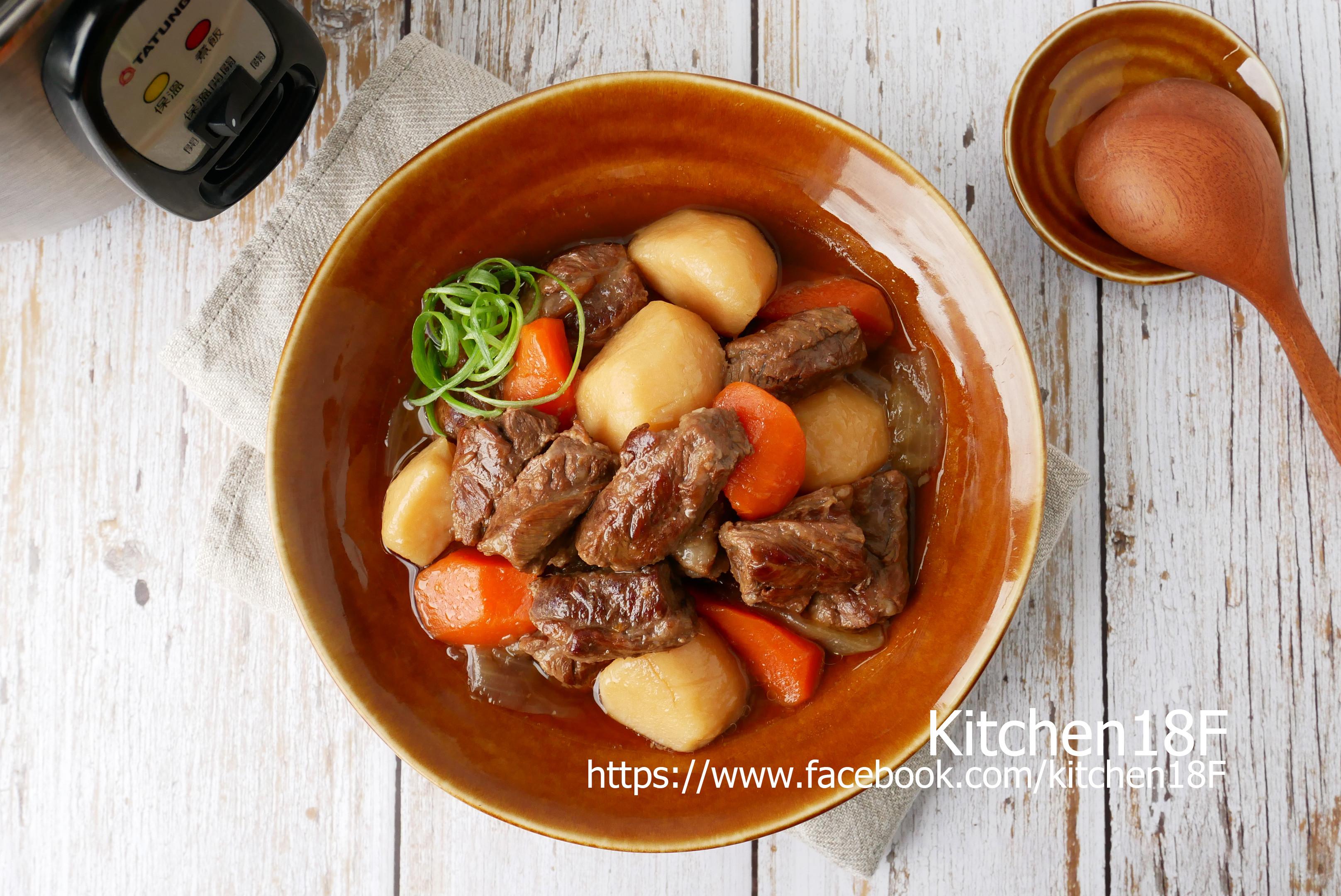 馬鈴薯燉肉_電鍋料理