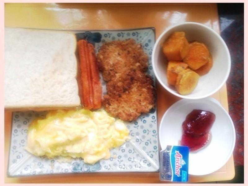 【Take a bread!創意三明治、麵包早餐】地瓜&美式早點