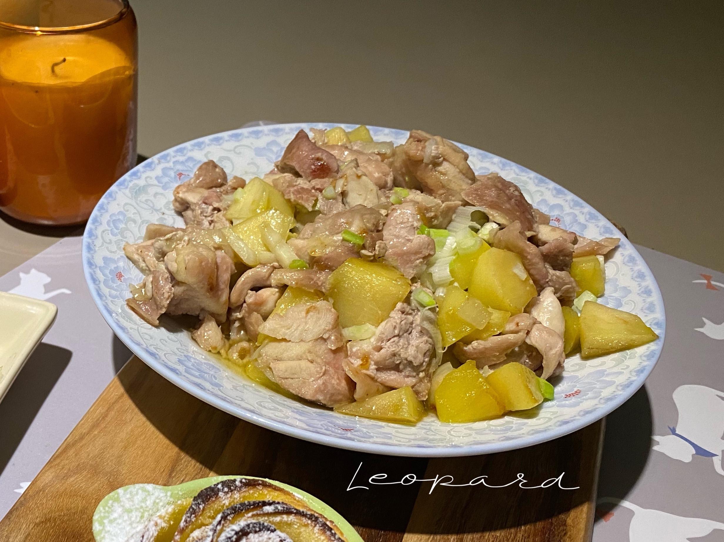 🍎蘋果燉煮雞腿🍗
