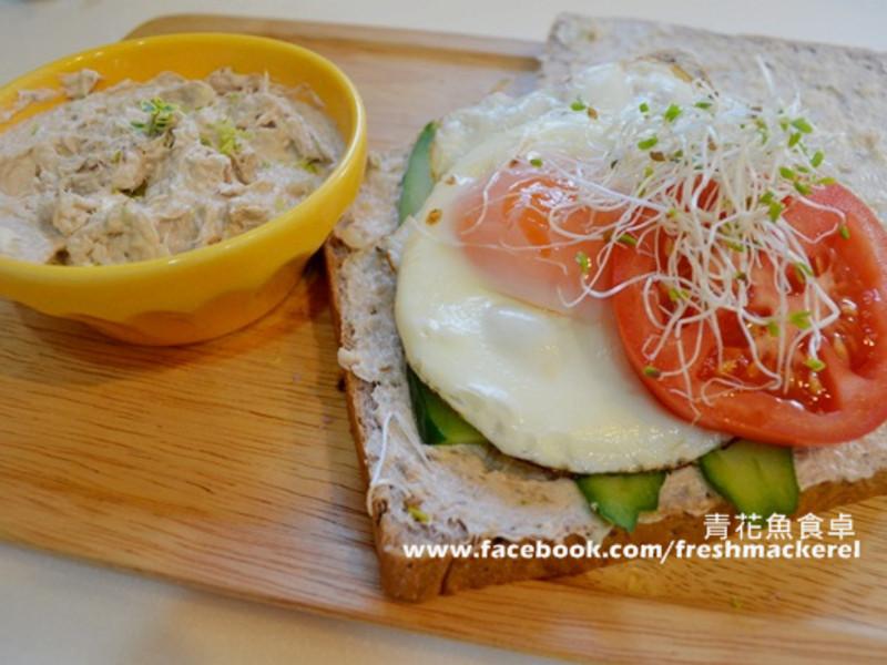 [10分鐘元氣早餐]鯖魚三明治