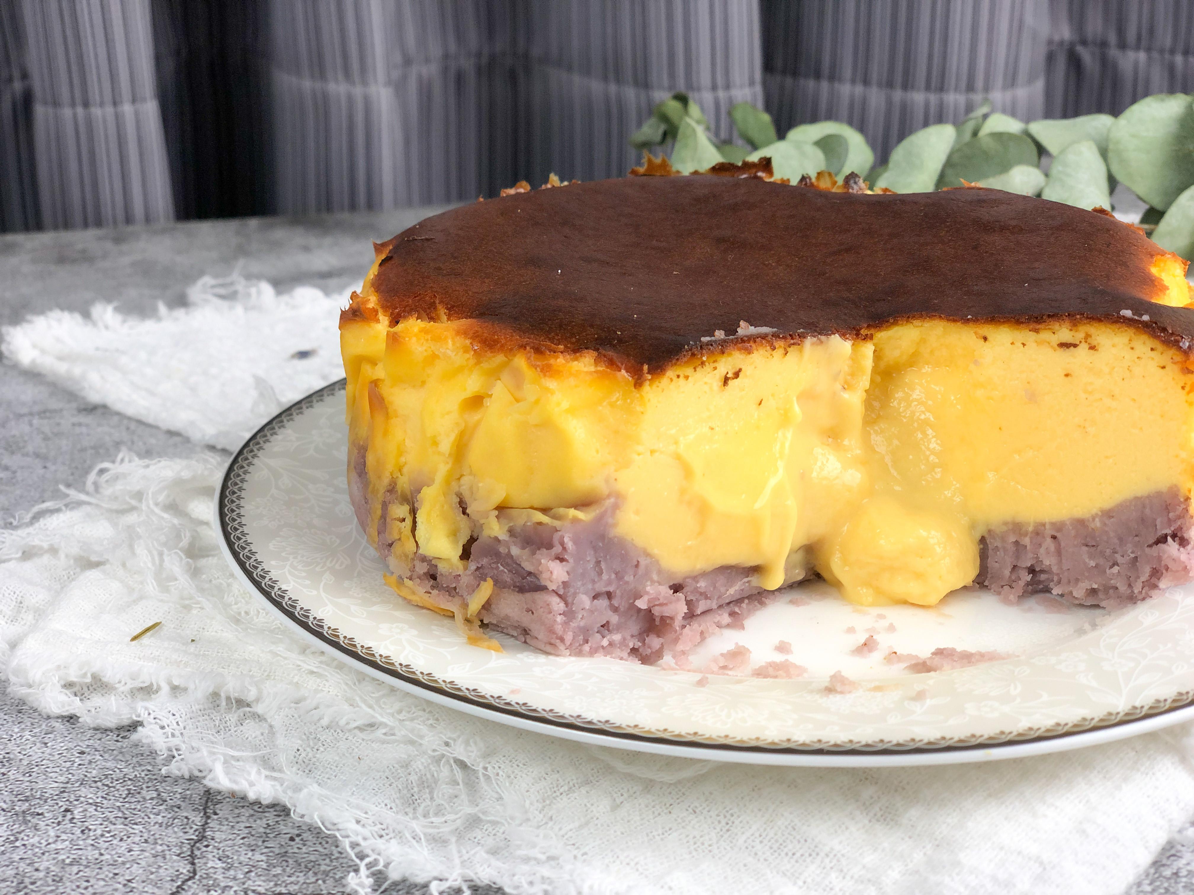 芋頭巴斯克乳酪蛋糕