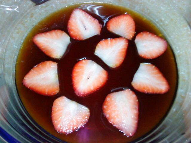 《草莓就愛鷹牌煉奶》煉乳草莓咖啡凍(小心上癮)