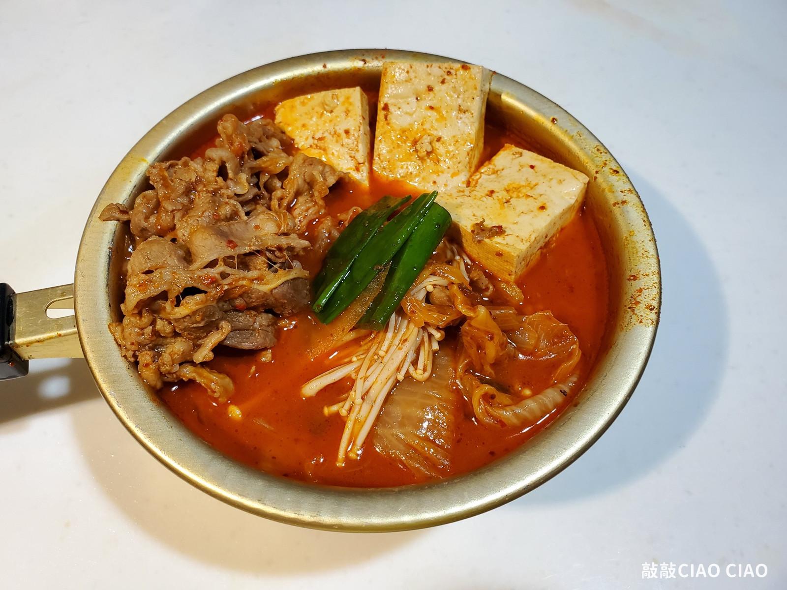 韓式泡菜鍋(韓國豆腐泡菜鍋)