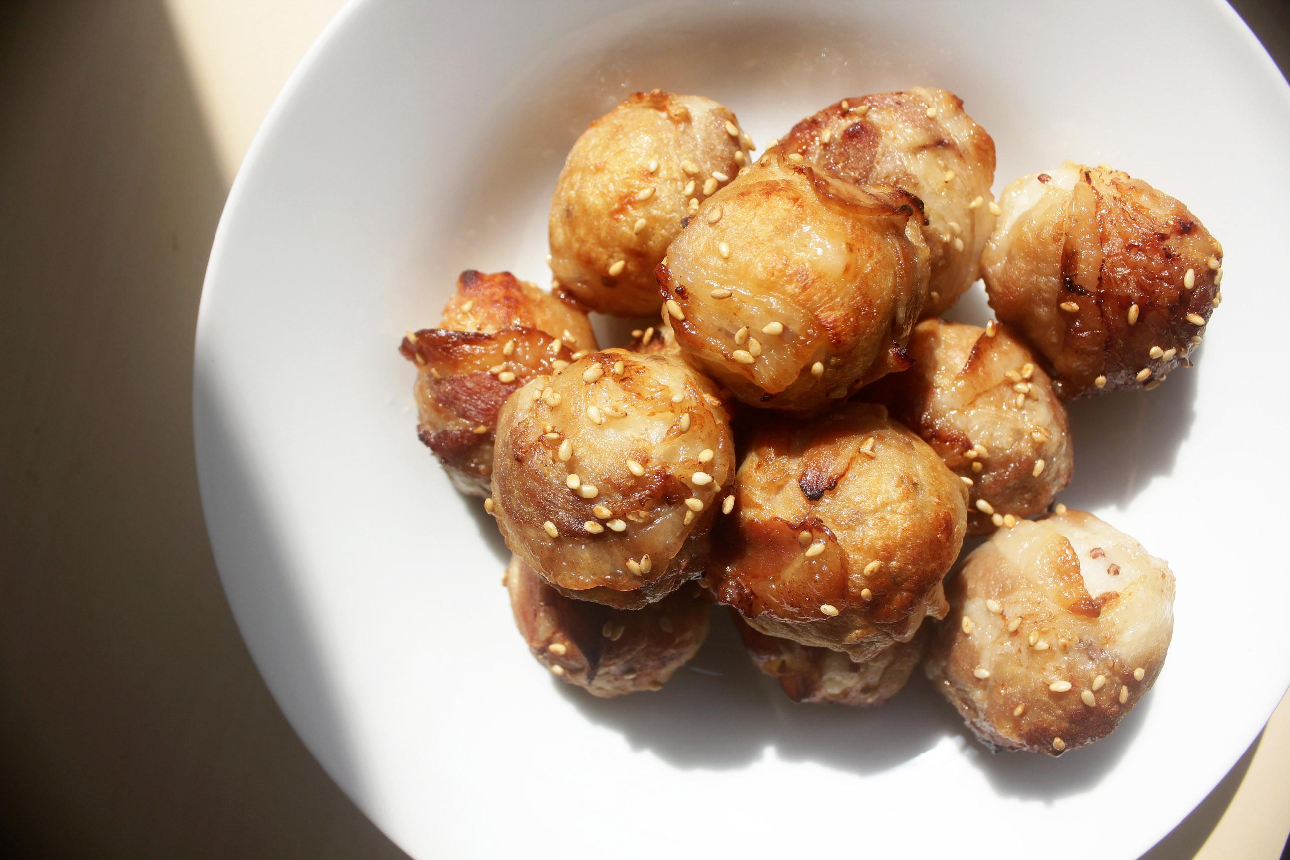 燒肉起司飯丸 野餐料理、便當菜 氣炸鍋