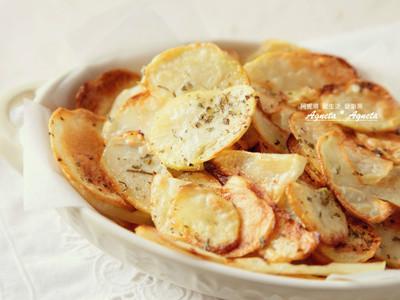 [阿妮塔♥yummy] 海鹽薄烤洋芋片。